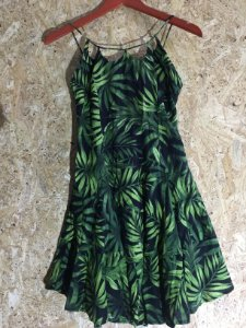 Vestido verde (G) - Farm