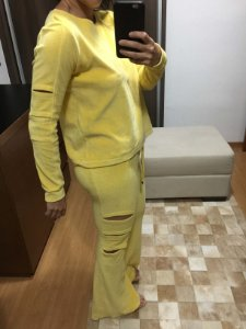 Conjunto plush amarelo (M) - Cia Marítima