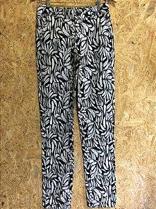 Calça cintura alta (36) - Dudalina