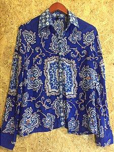 Camisa azul (M) - Farm