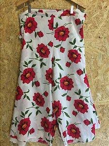 Calça floral pareô (M)