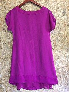 Vestido pink (P) - Maria Filó