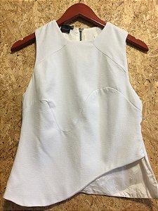 Blusa off white (P) - Espaço Fashion