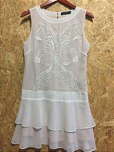 Vestido off white (P) - + Rimix