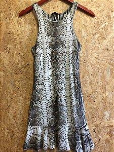 Vestido moletom cobra (M) - Aremo
