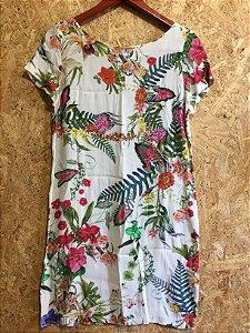 Vestido floral (P) - Zara