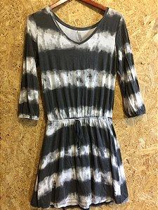 Vestido tons cinza (P)