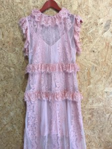 Vestido festa renda rosê (42) LN - NOVO