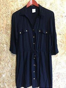 Vestido preto chemise (38) - A. Colllection