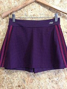 Short saia fitness vinho (P) - Adidas - NOVO