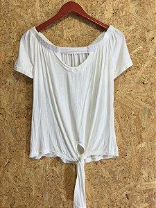 Blusa nozinho off white (M)