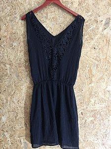 Vestido alcinha e renda (P) - K9