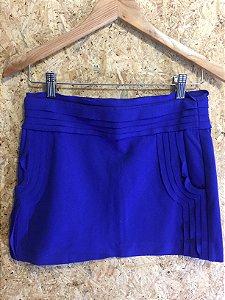 Saia azul (P) - Diane Von Furstenberg
