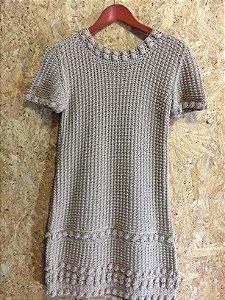 Vestido croche (P) - Mixed