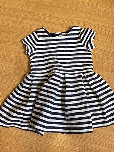 Vestido infantil listras (5 meses) - Ralph Lauren