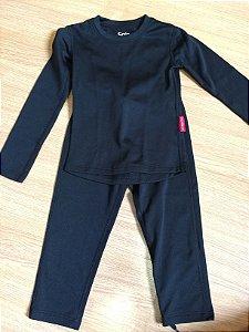 Conjunto térmica infantil preta (2 anos ) - Solo / X-Thermo