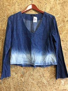 Cropped jeans (P) - Fabrizia Vilela