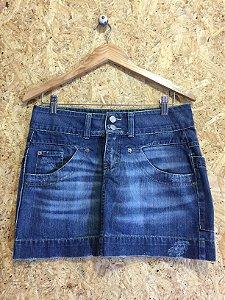 Saia jeans (40) - Lado Avesso