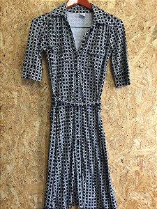 Vestido chemise (P) - Luz e Sombra