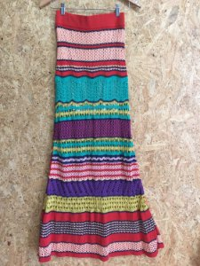 Saia longa crochê (P) - Cecília Prado