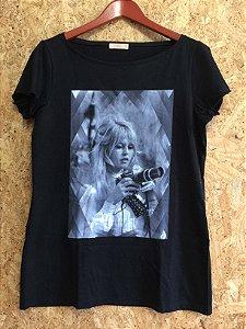 Tshirt preta (40) - Lafê