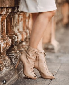 Ankle boot nude (37) - Cavage