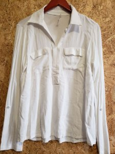 Camisa off white  (G) - Heaven