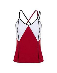 Camiseta tela vermelha fitness (P) - Lauf