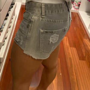 Short jeans destroyed (38) - Costume