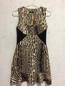 Vestido animal print (P) - L`amitié