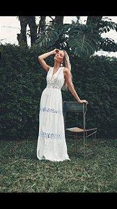Vestido Longo Madrepérola - Lamac NOVO