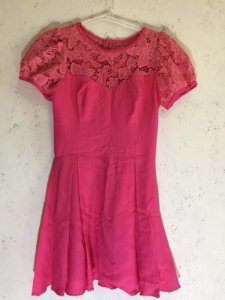 Vestido rosa (PP) - e.store