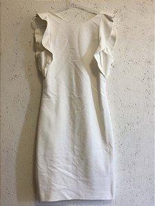 Vestido off white (P) - Zara