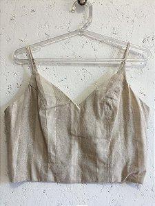 Conjunto linho (P) - Rara Fashion