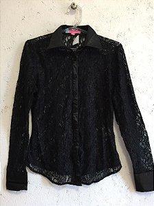 Camisa renda (36) - Les Chemises