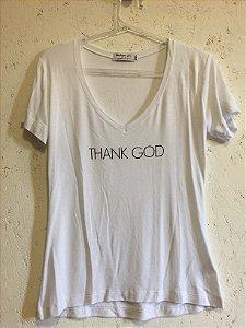 Blusa branca (P) - Basique por Gisele Dias
