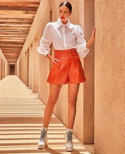 Short cintura alta (P) - Anne Fernandes NOVO