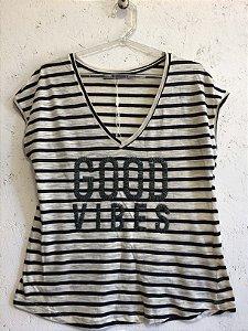 Blusa malha (P) - Shoulder