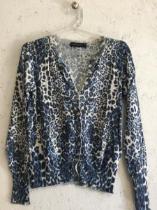Cardigan animal print (P) - Thelure