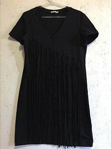 Vestido black franjas (P) - Morina