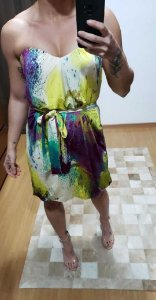 Vestido tomara que caia (M) - Gloss Style
