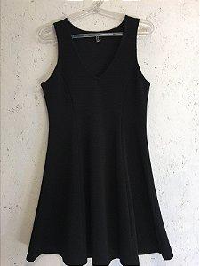 Vestido black (M) - Forever 21