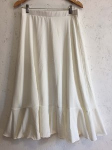 Saia midi off white (M)
