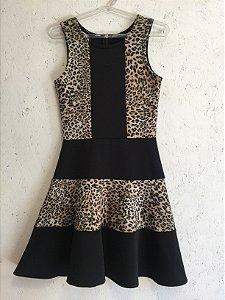 Vestido animal print (M) - Skazi