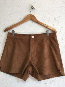 Short camel suede (40) - Yessica