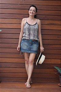 Saia jeans (40) - Le Lis Blanc