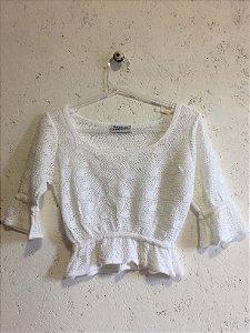 Conjunto off white (P) - Basique NOVO