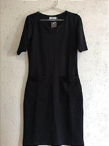 Vestido preto (PP) - Basique NOVO