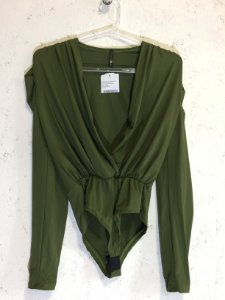 Body verde (M) - lits NOVO