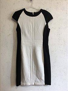 Vestido bicolor (M) - Zara